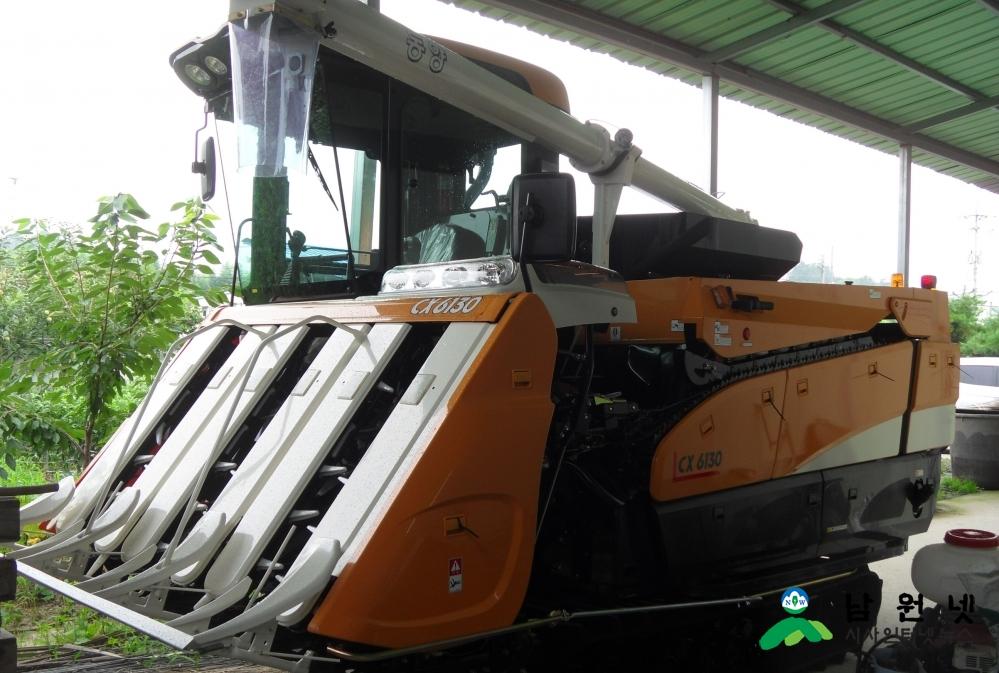0804 농정과-남원시, 농업기계화사업 미래 식량산업 선제적 대응(수확기지원_1).JPG