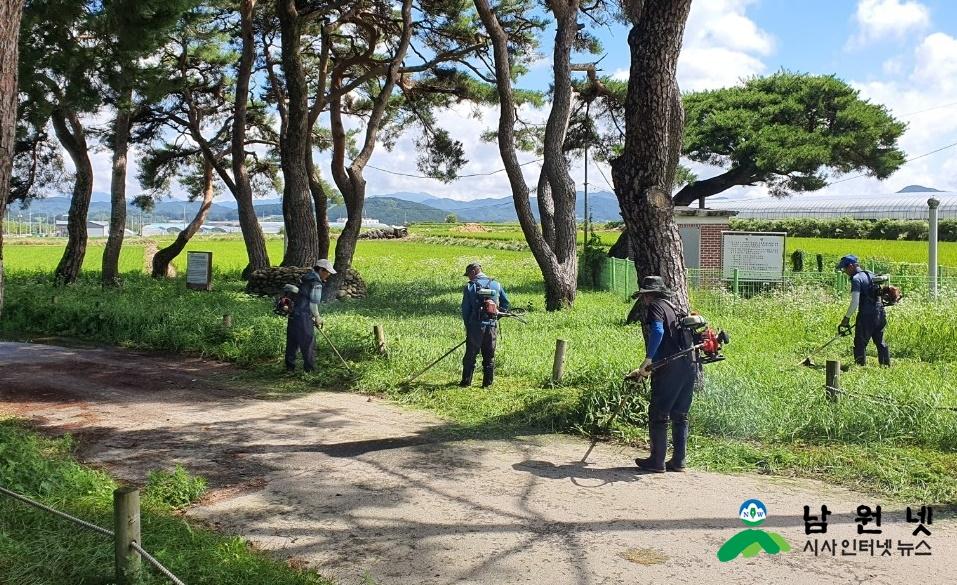 0724 운봉읍-운봉읍 행락철 맞이 깨끗한 가로환경 조성 (3).JPG
